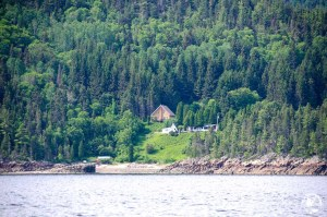 chalet au bord du lac Canada