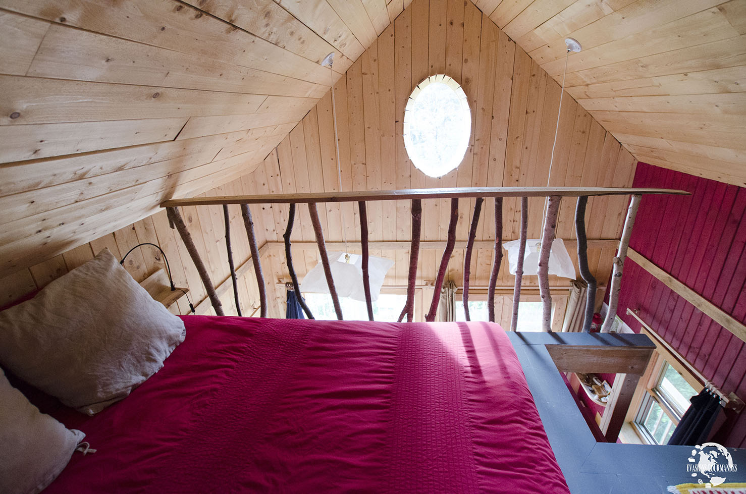Cabane Canopée Lit
