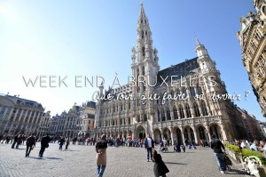 Week end à Bruxelles