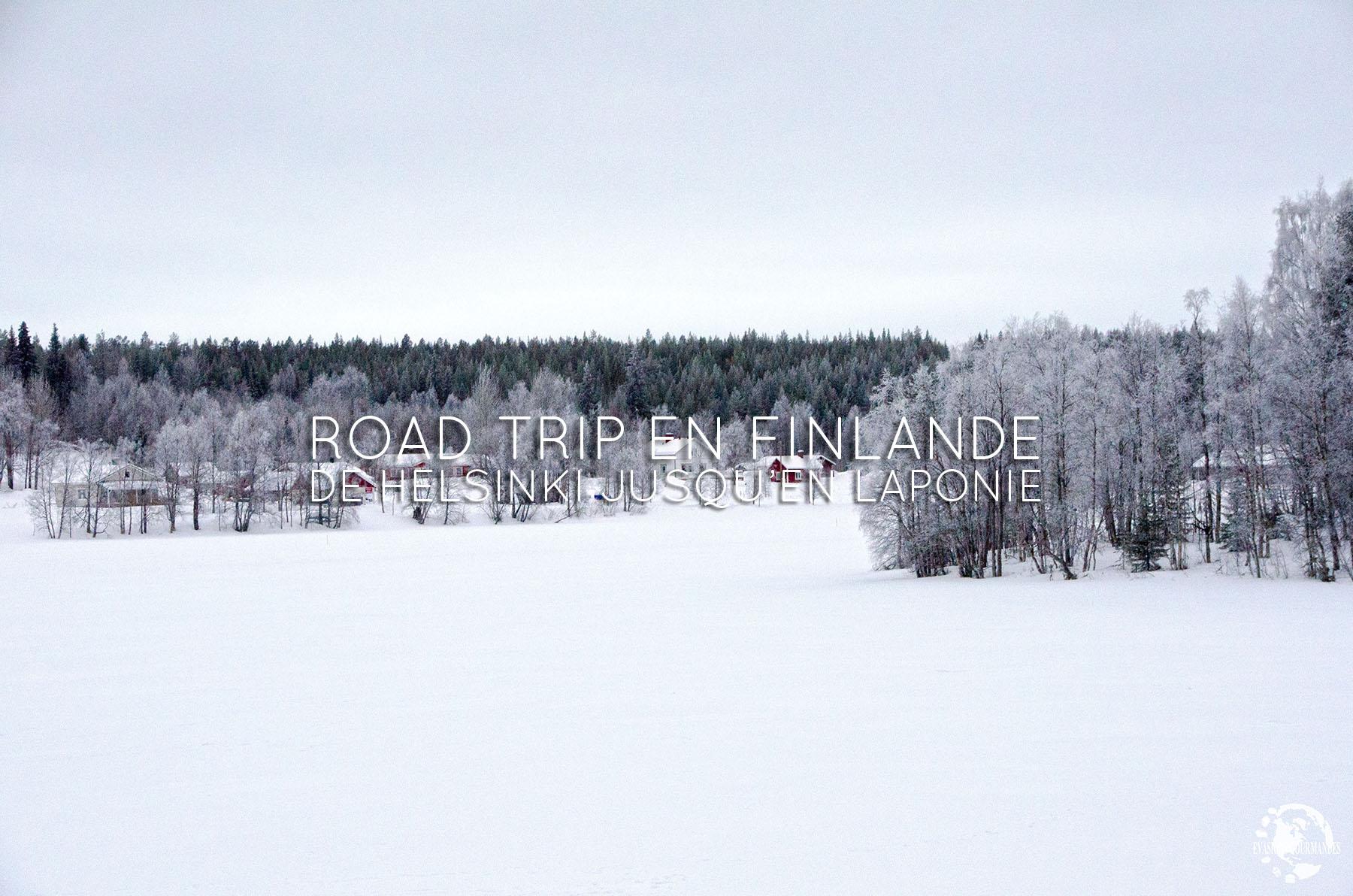 La Finlande en hiver