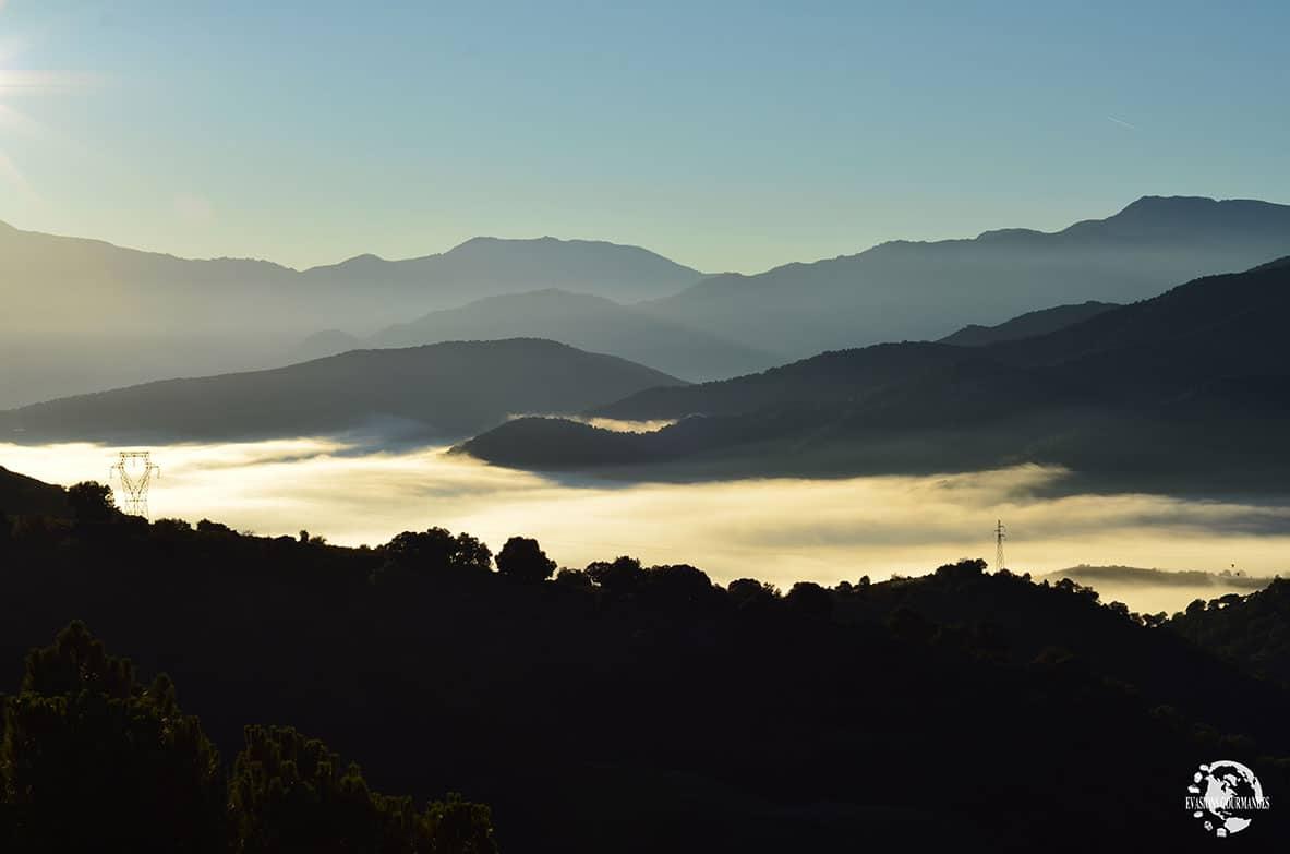 Lever du soleil en Corse