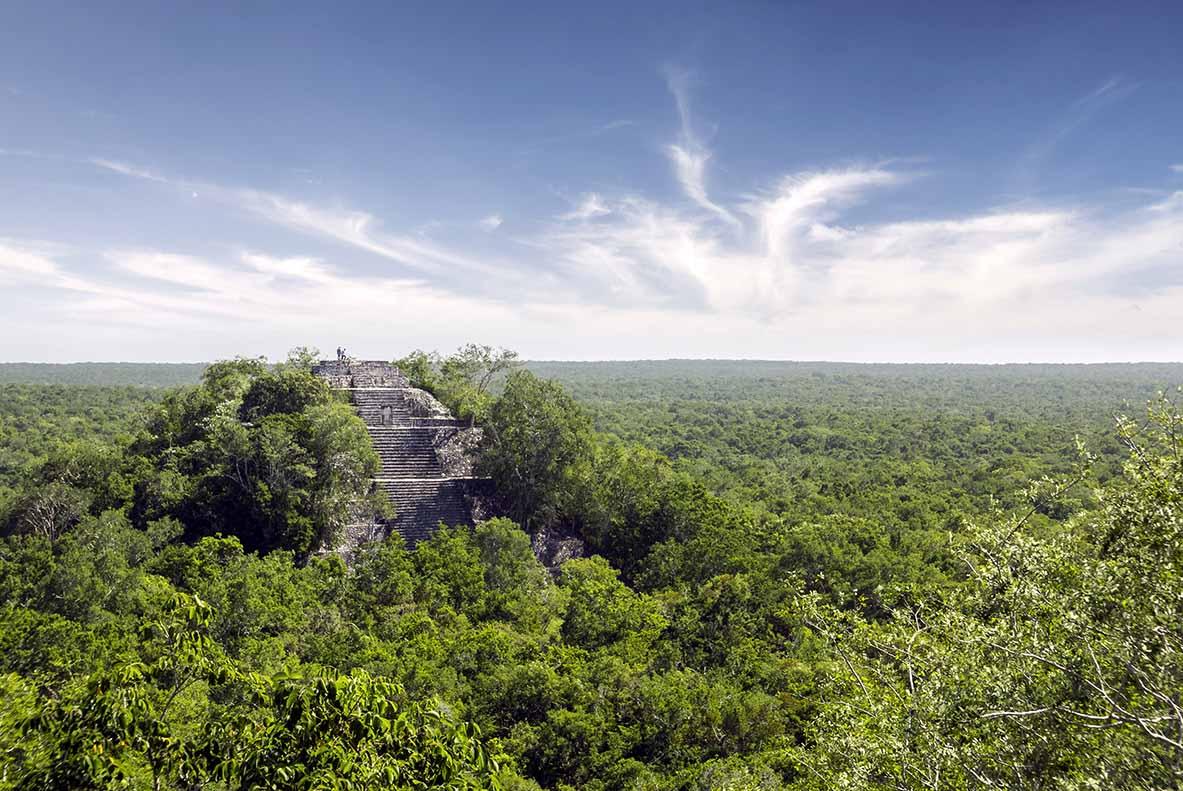 Ruines Calakmul