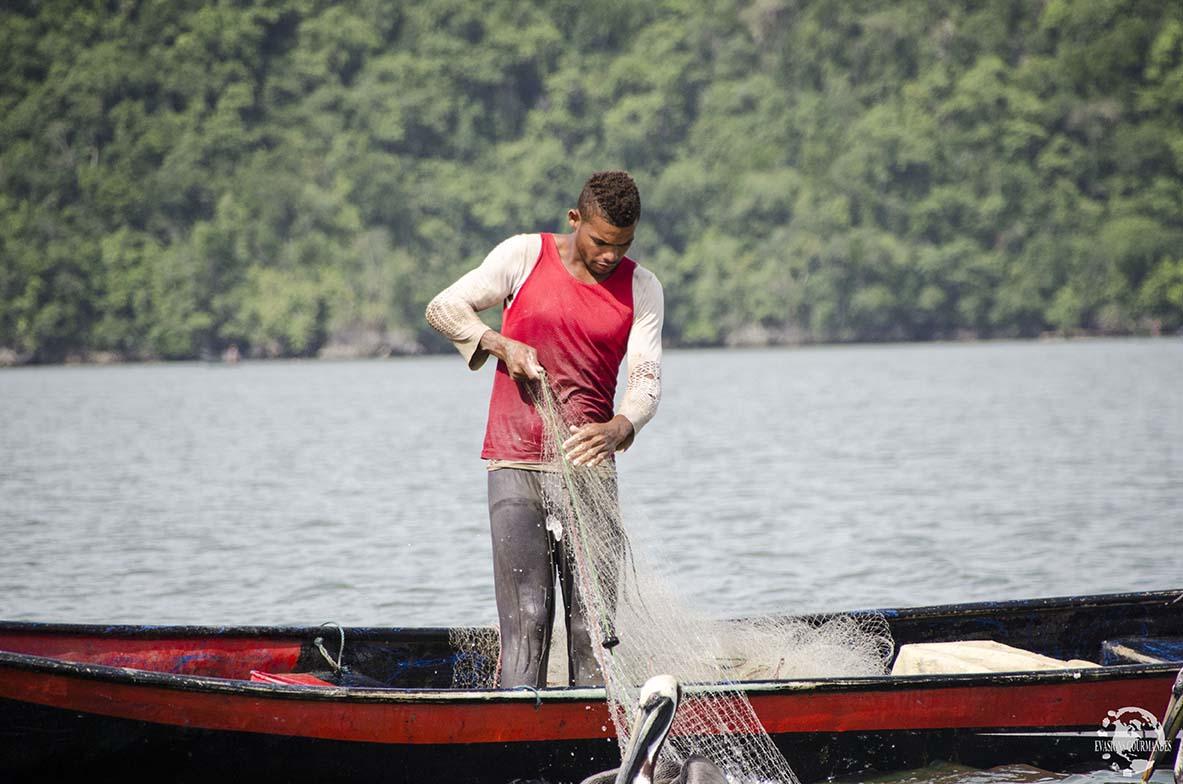 Pêcheur Los Haitises