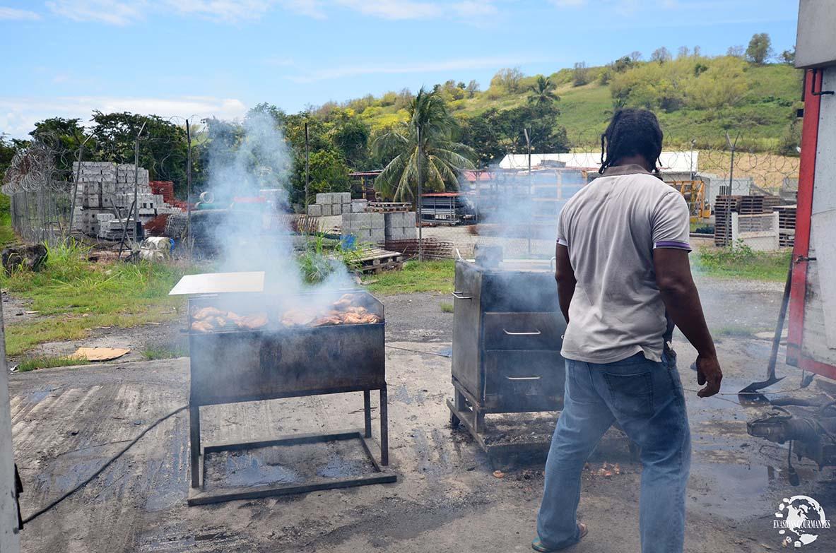 poulet boucané Martinique
