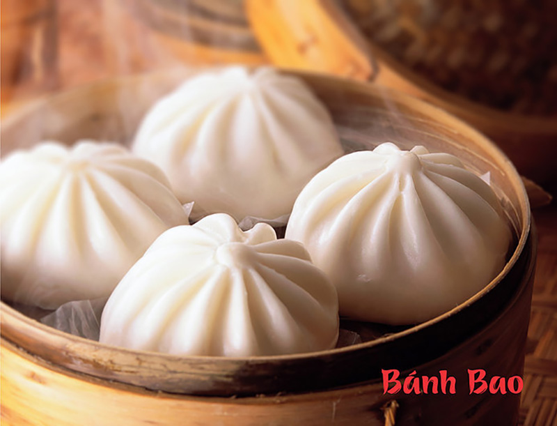 Recette du banh bao