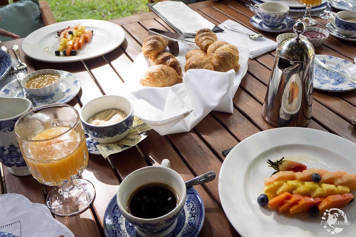 Petit déjeuner Casas del XVI
