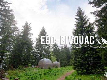 L'Eco-Bivouac du Semnoz, des hébergements insolites en Haute-Savoie !