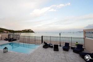 piscine Hôtel Bambou