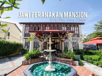 Où dormir à Penang ? Bienvenue au Jawi Peranakan Mansion, George Town