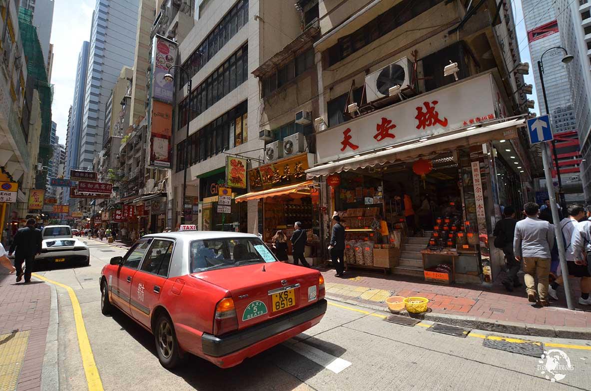 Taxi Hong Kong