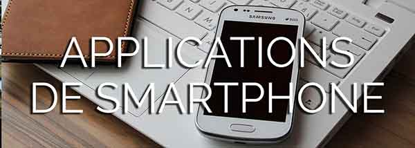Applications de smartphone