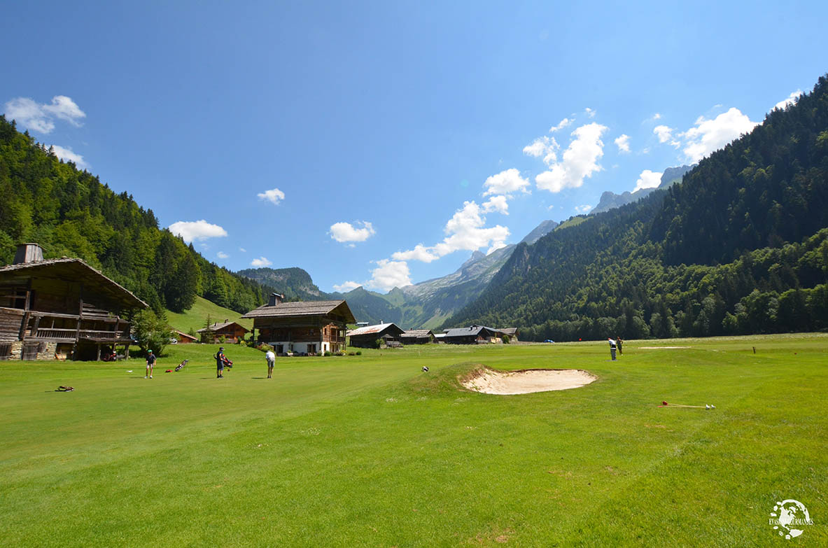 Golf Le Rocher Blanc Grand Bornand