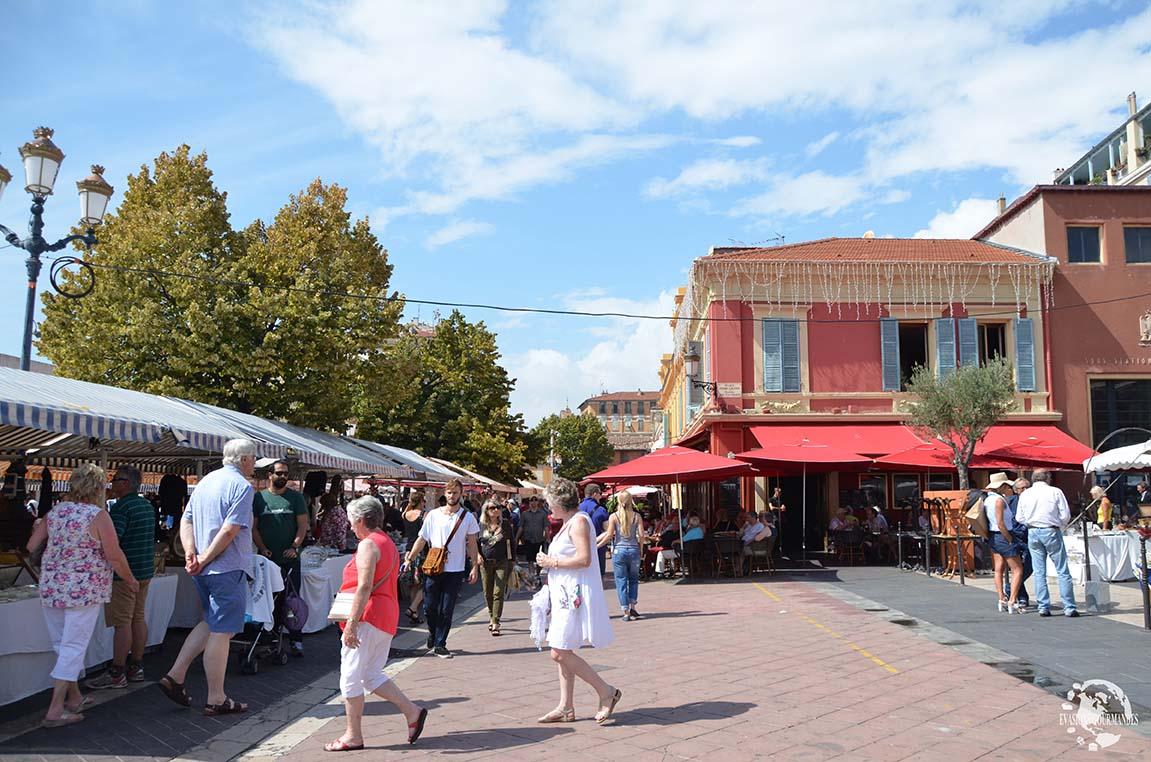 Cours Saleya Nice
