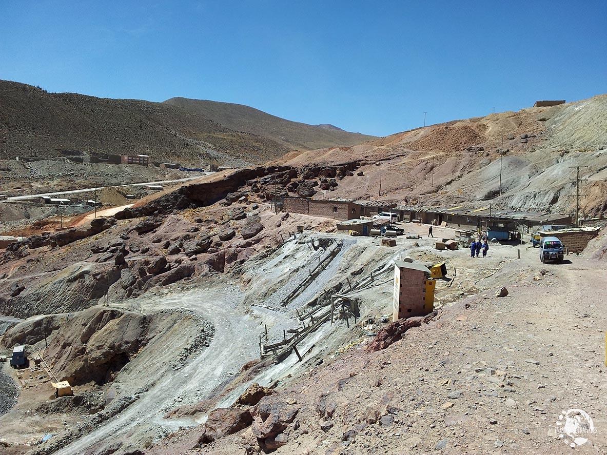 Visite d'une mine de Potosi en Bolivie
