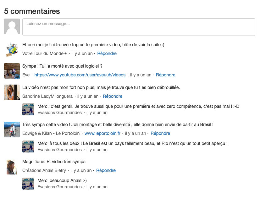Commentaires article