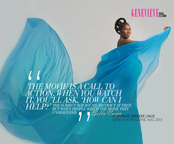 Stephanie Linus Stuns With Baby Bump In Genevive Magazine (3)