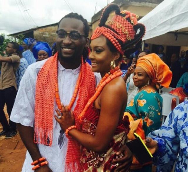 Gbenro-Ajibade-Osas-Ighodaro-Top-10-Nigerian-celebritiy-Wedding-2015 (2)