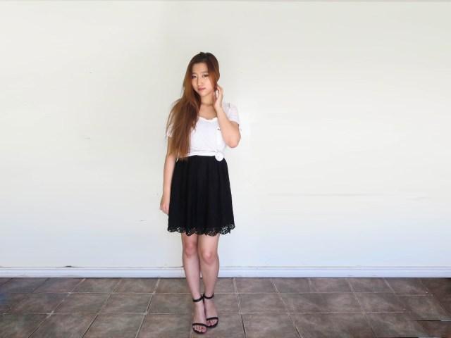 White-tee-shirt-with-dress-evatese-blog