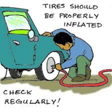 check your tires regularly Rainy Season Car Checklist