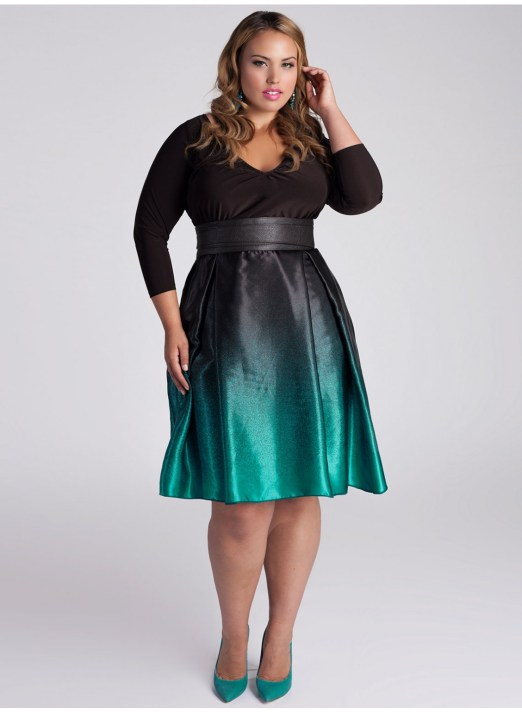 a-line-dresses-in-plus-size