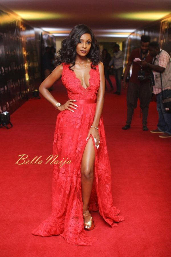 Vanessa Mdee At SoundCity MVP Awards 2016