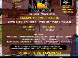 Urban Escape to Omu Resorts