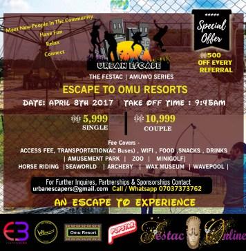 Urban Escape to Omu Resorts