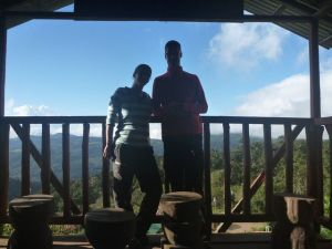 Uitkijkpost bij de Quetzal