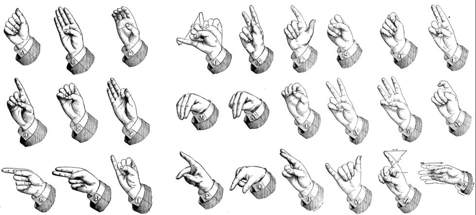 Communication - les Mains