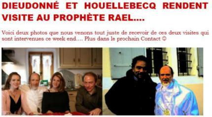 Dieu donné et les raëlien - visite au prophète ??