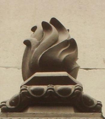 Autres exemples de flamme maçonnique — « Lumière de l'Intellect » -