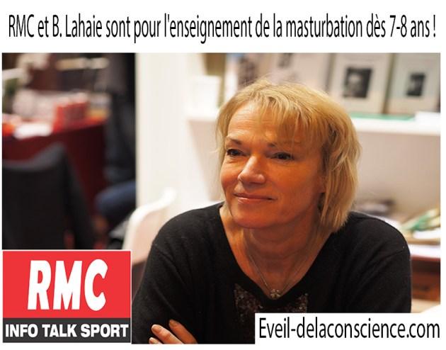 RMC et B. Lahaie sont pour l'enseignement de la masturbation dès 7-8 ans !