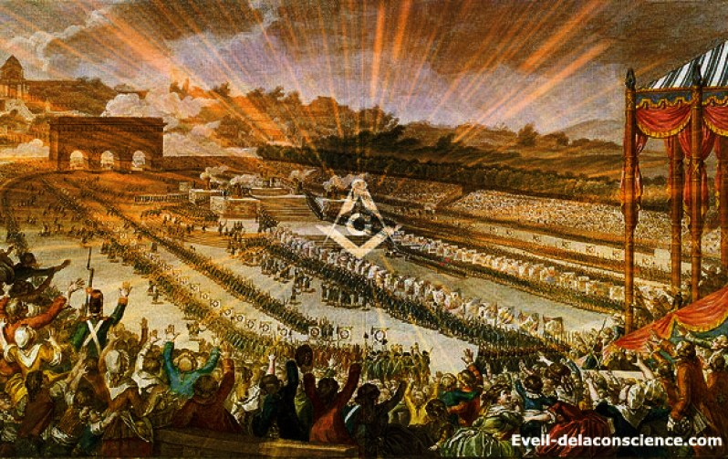 Le 14 juillet - une fete maconnique