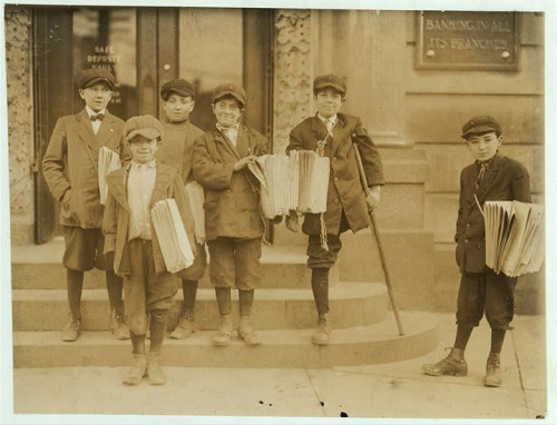 11_Vendeurs de journaux à Jersey City, New Jersey