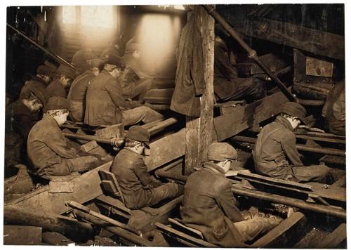 12_Mineurs à Lancaster, Pittston, Pennsylvanie