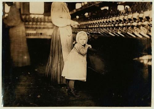 16_Fille d'un contremaître à Hickory, Caroline du Nord