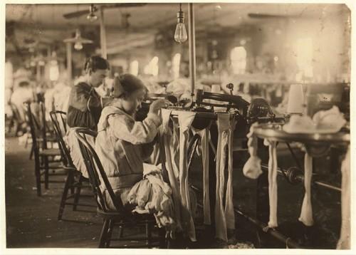 3_Fille de 11 ans travaillant à Crescent Hosiery Mill