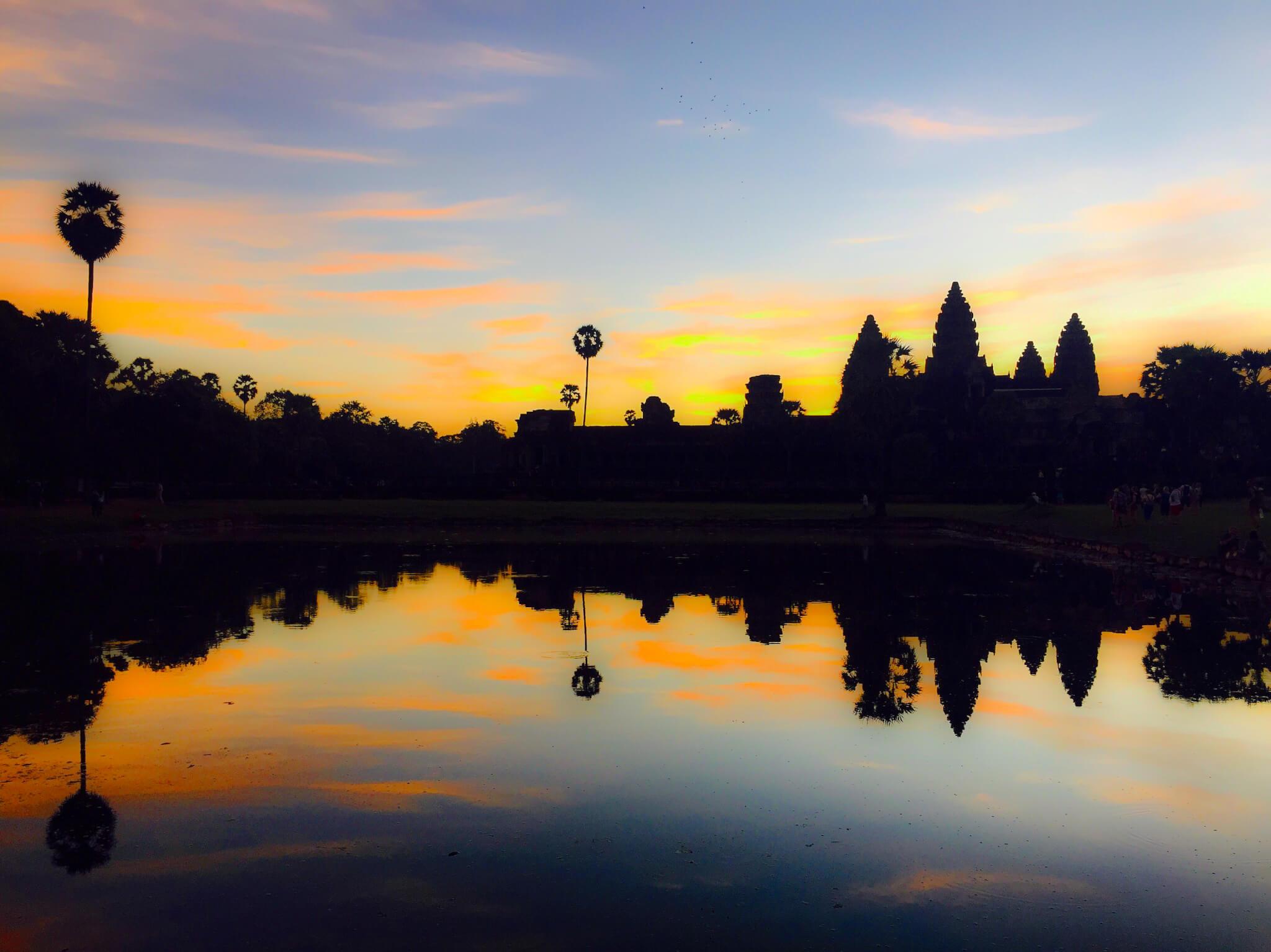 Ankor Wat, Kambodza