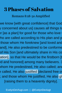 Salvation Contains 3 Different Phases