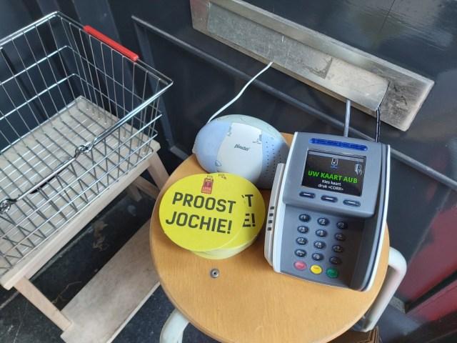 Pinautomaat door de brievenbus