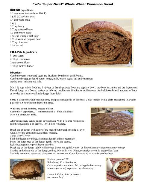 Cinnamon Super Swirl Recipe
