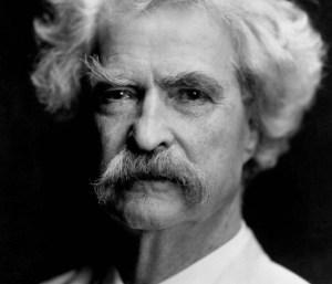 Par ses citations positives, Mark Twain nous a appris à être confiants et persévérants