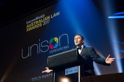 Awards Presenter Photography