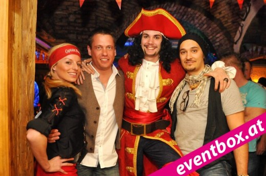 Captain Morgan Party in der Salud Alm