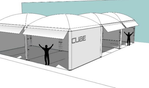 cube canopy
