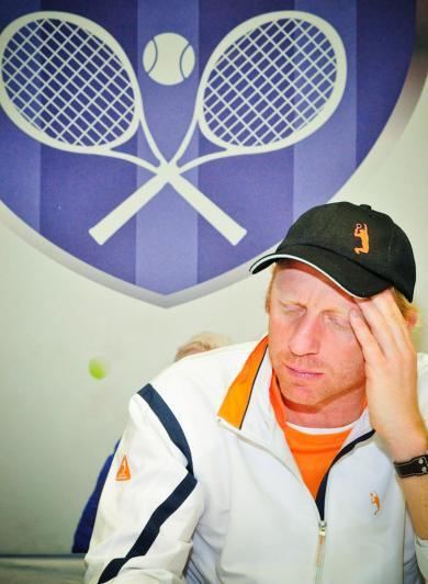 "Boris Becker beim ""Masters of the Legends"" Turnier am 22.12.2007 in Düsseldorf Foto:Christopher Adolph"
