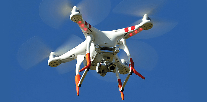 Event technology: drone