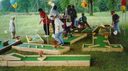 Miniature Golf Course Rental  Mini Golf Rental in Michigan  9 hole     Rent Portable Mini Golf in MI  OH  IN  IL  IA