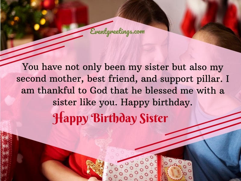 90 Birthday Wishes For Sister To Express Unconditional Love