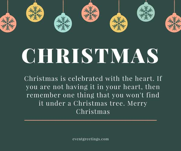 Merry Christmas Wishes And Quotes – Events Greetings